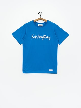 T-shirt Diamante Wear Fuck Everything (blue)