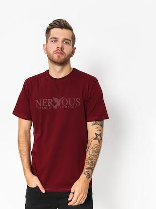 T-shirt Nervous Classic (maroon)