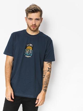 T-shirt Turbokolor Silence (gunmetal)