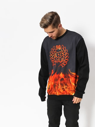 Bluza MassDnm Burn Babylon (black)