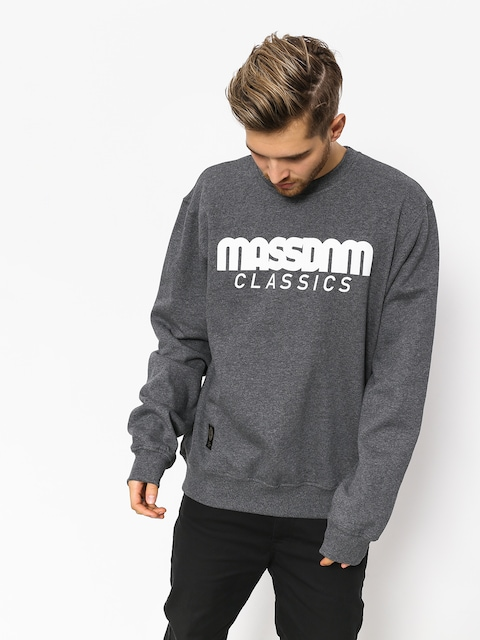 Bluza MassDnm Classics (dark heather grey)