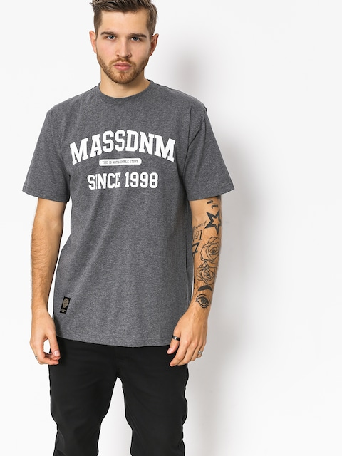 T-shirt MassDnm Campus (dark heather grey)