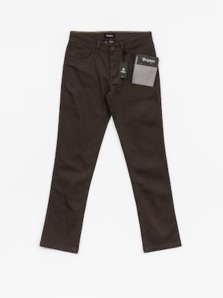 Spodnie Brixton Reserve 5 Pkt (brown)