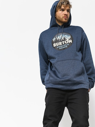 Bluza z kapturem Burton Oak HD (mood indigo heather)