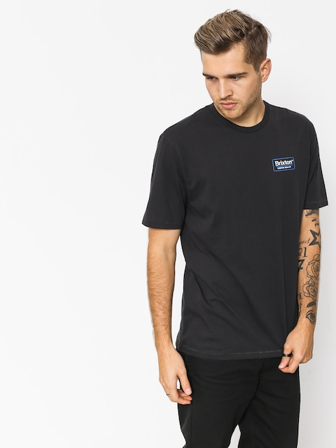 T-shirt Brixton Palmer Prem (washed black)