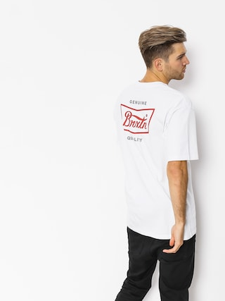 T-shirt Brixton Stith Stnd (white/red)