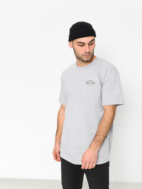 T-shirt Brixton Cinema Stt (heather grey)
