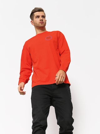 Longsleeve Brixton Wheeler II Stt (orange)