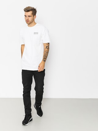 T-shirt Brixton Wedge Stt (white)