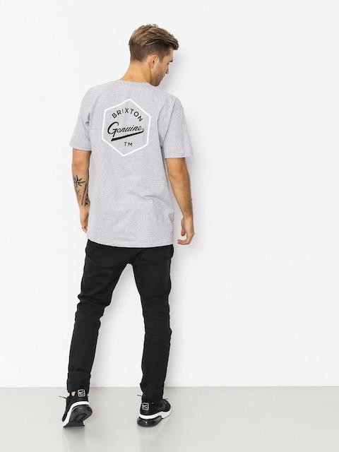 T-shirt Brixton Yates Stt