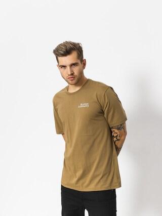 T-shirt Brixton Revert Prt (dusty olive)