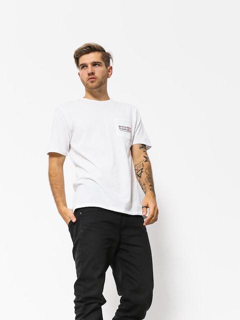T-shirt Brixton Orson Pkt (white)