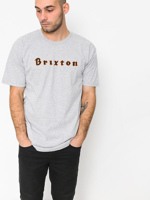 T-shirt Brixton Proxy Stt (heather grey)