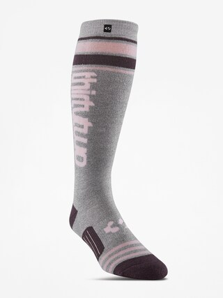 Skarpety ThirtyTwo Stripe Graphic Wmn (charcoal/heather)