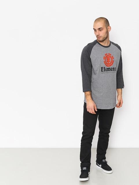T-shirt Element Vertical Raglan (grey heather)