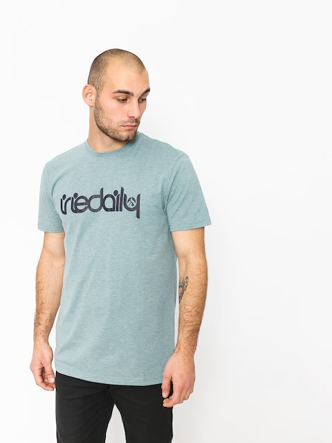 T-shirt Iriedaily No Matter 4 (mint grey)