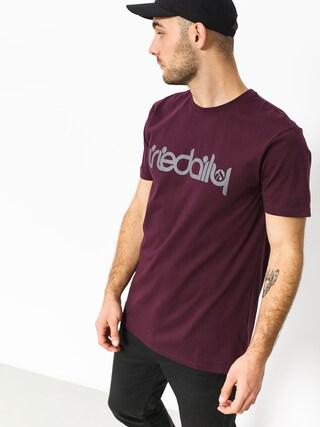 T-shirt Iriedaily No Matter 4 (red wine)