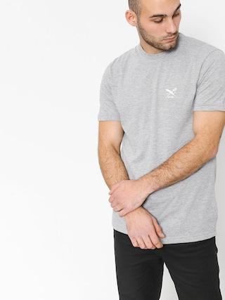 T-shirt Iriedaily Chestflag (grey melange)