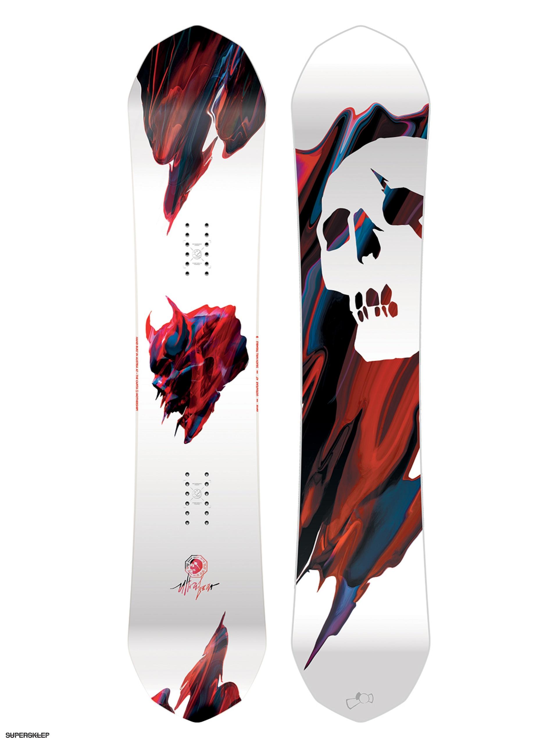 Deska snowboardowa Capita Ultrafear (multi) a55016d3ef