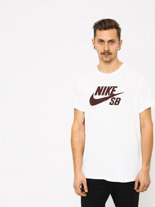 9479d2d73197dd ... T-shirt Nike SB Sb Logo (white white burgundy crush)