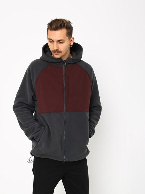 Bluza z kapturem Nike SB Sb Hoodie Fz Polartec ZHD (anthracite/burgundy crush/black)