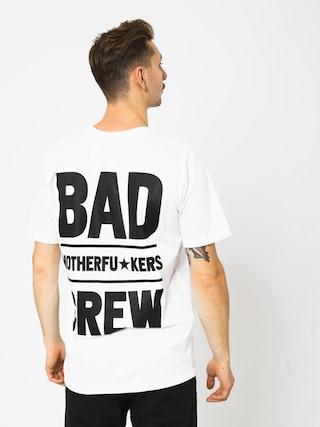 T-shirt Diamante Wear Bad Motherfuckers (white)