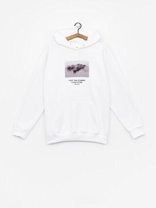 Bluza z kapturem Majors Wht Hoodie HD (white)