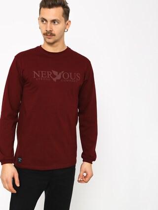 Longsleeve Nervous Classic (maroon)