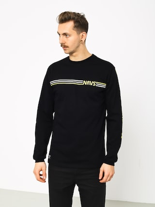 Longsleeve Nervous Stripes (black)