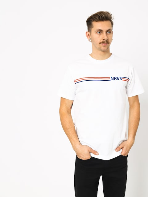 T-shirt Nervous Stripes (white)