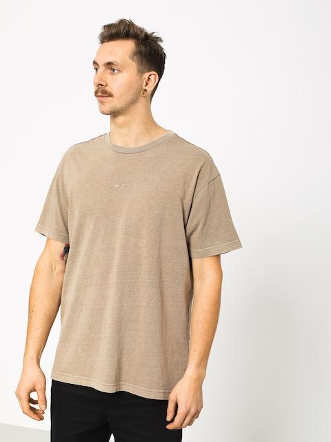 T-shirt RVCA Os Pigment (dark khaki)