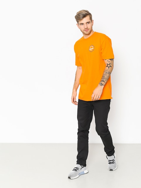 T-shirt Brixton Yates Stt (orange)