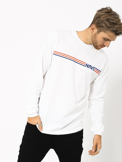 Longsleeve Nervous Stripes (white)