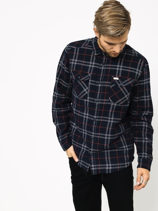 Koszula RVCA Ar Plaid Ls (new navy)