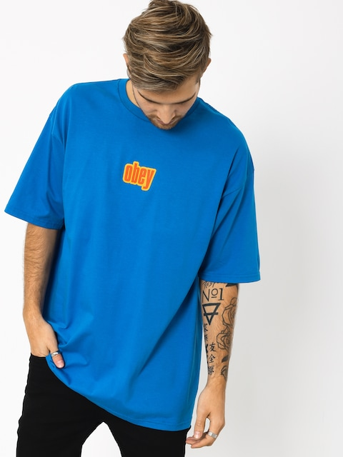 T-shirt OBEY Obey 1990 (royal blue)
