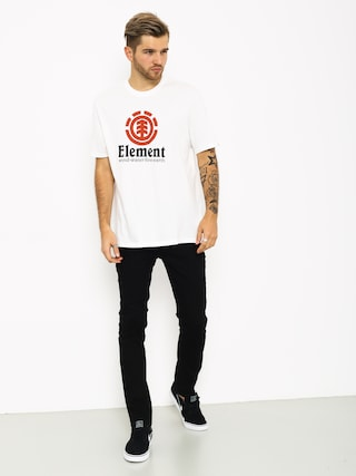 T-shirt Element Vertical (optic white)