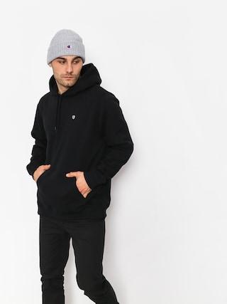 Bluza z kapturem Brixton B Shield Intl HD (black)