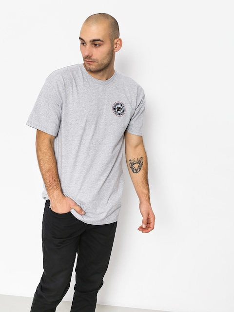 T-shirt Brixton Forte II Stt (heather grey)