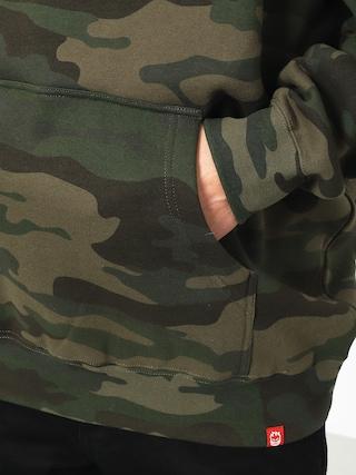 Bluza z kapturem Spitfire Rocking HD (camo/warm red)