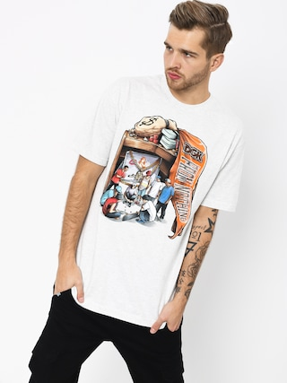 T-shirt DGK Hard Knocks (ash)
