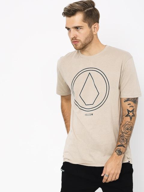 T-shirt Volcom Pinline Stone Hth (oat)