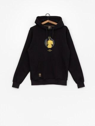 Bluza z kapturem MassDnm Golden Chick HD (black)