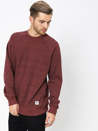 Bluza Element Meridian Crew (oxblood red)