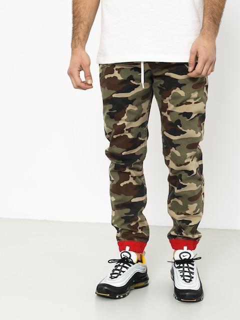 Spodnie MassDnm Truman Joggers Sneaker Fit (woodland camo)