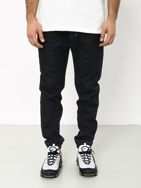 Spodnie MassDnm Truth Joggers Jeans Trap Fit (black rinse)