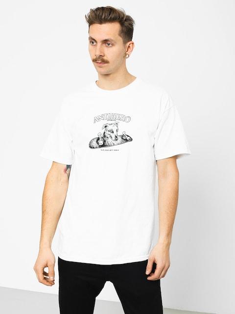 T-shirt Antihero Best Friend (white/black)