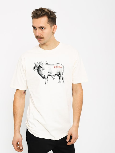 T-shirt Antihero Cow (creme/black)