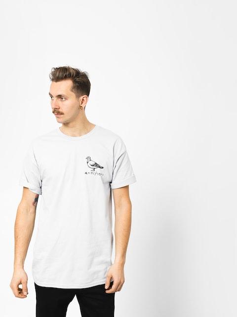 T-shirt Antihero Og Pigeon (silver/black)