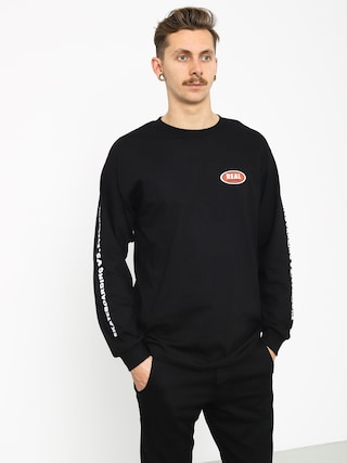 Longsleeve Real Evryne Ovl (black/white)