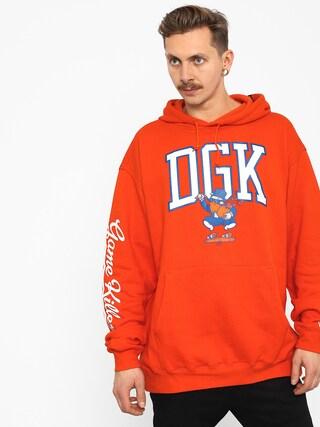 Bluza z kapturem DGK Game Killers HD (orange)